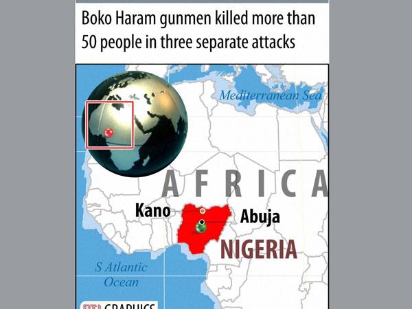 Boko Haram attacks kill more than 50