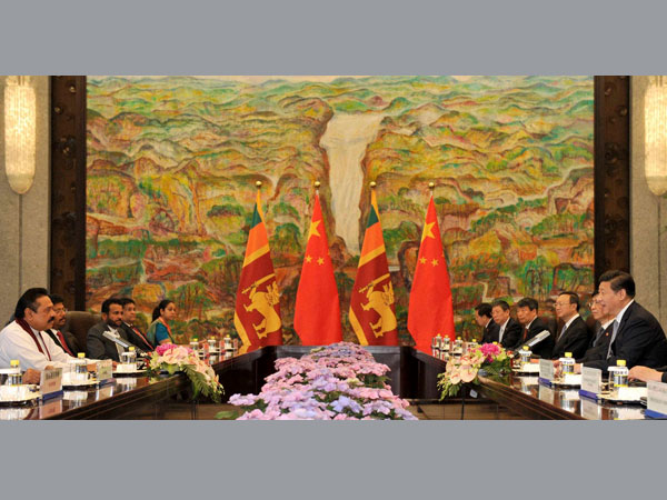 Chinese, Lankan heads meet in Shanghai