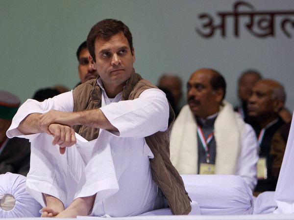 Cong slams 'blame-Rahul' editorial