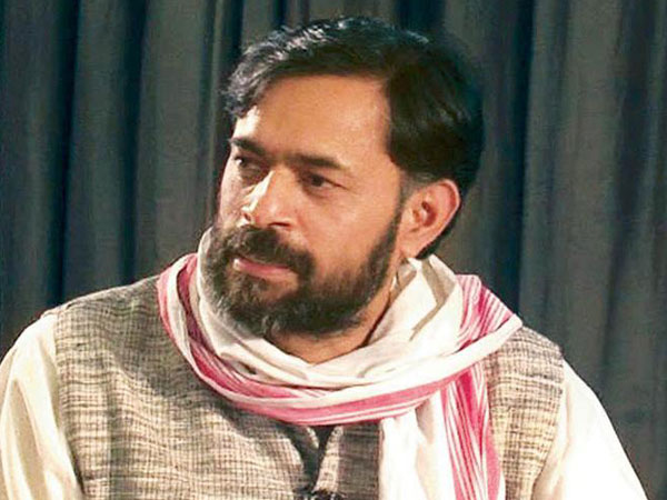 Yogendra Yadav released after bail