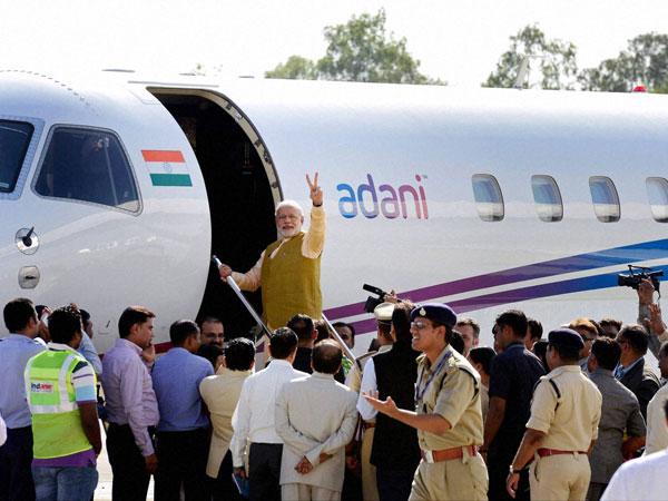 Modi back in New Delhi