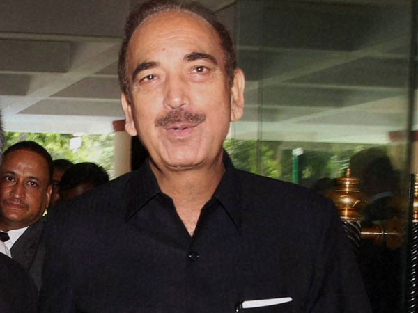 Azad analyses Cong debacle in Jammu
