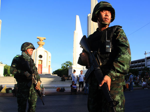 US suspends military aid to Thailand
