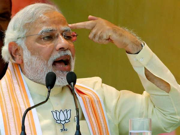 Modi's oath: 10,000 police deployed