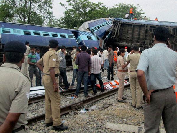 Gorakhdam express accident