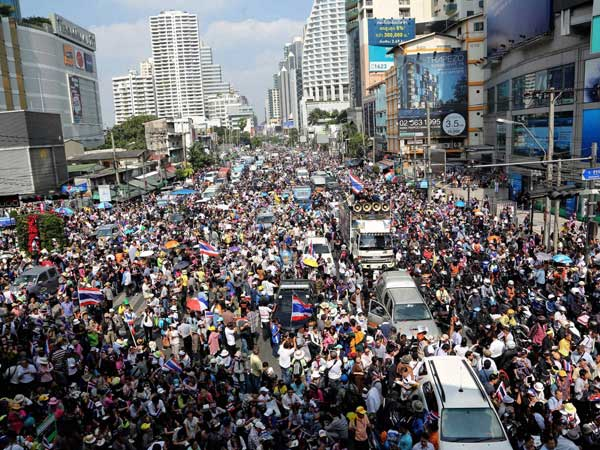 Thai protest leader released