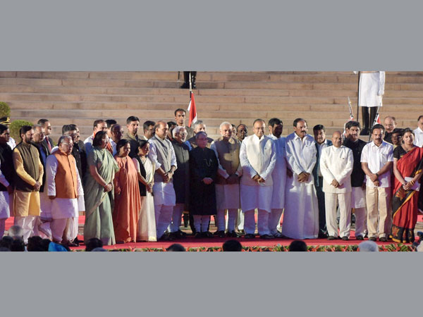 Prime Minister Narendra Modi and Council of Ministers