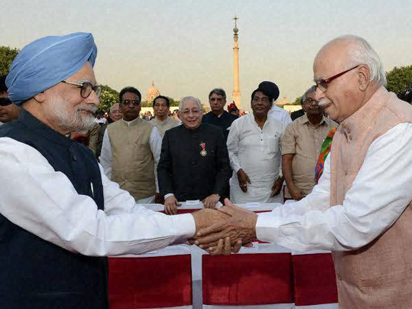 The outgoing Prime Minister Manmohan Singh