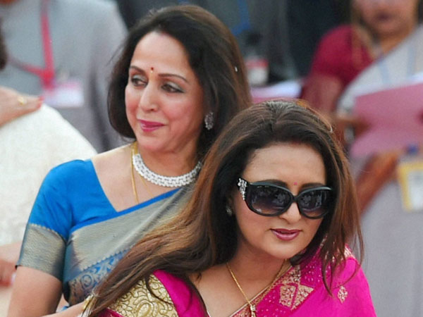 Actor-MP Hemamalini and actress Poonam Dhillon