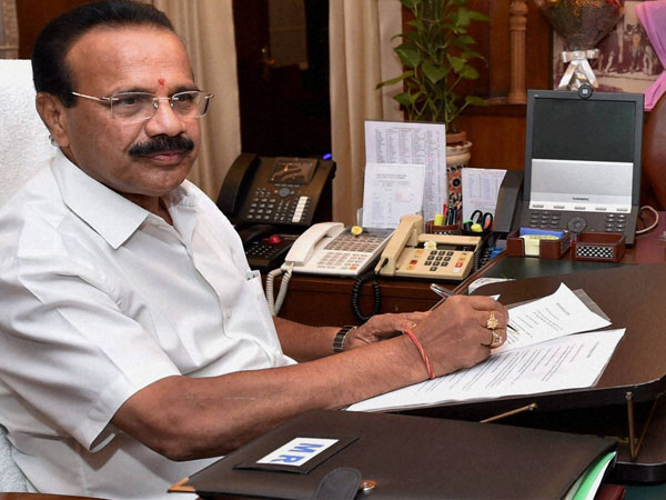 D V Sadananda Gowda takes charge as the Union Minister for Railways