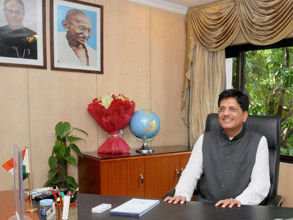 Piyush Goyal takes charge as Minister of State