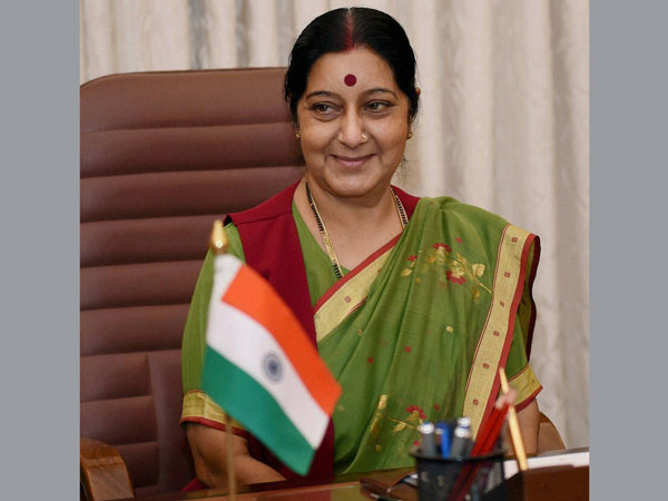 Sushma Swaraj takes charge as the Minister of External Affairs