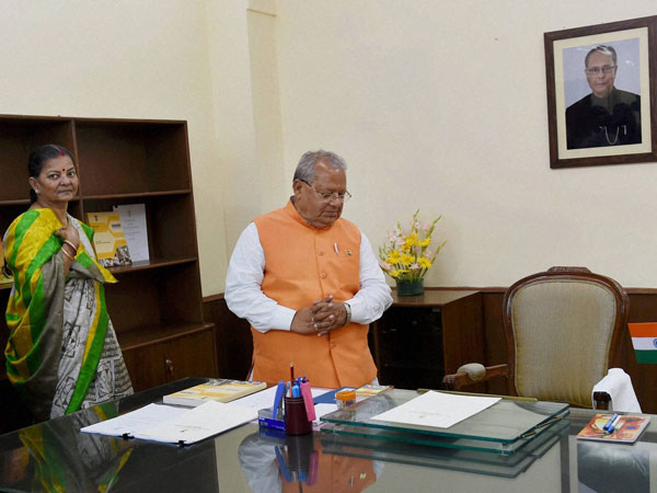 Kalraj Mishra takes charge at his office