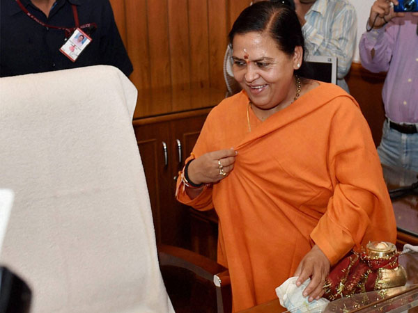 Uma Bharati takes charge as the Union Minister for Water Resources