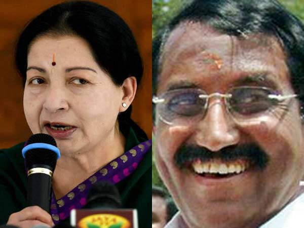 Jayalalithaa and Velusamy