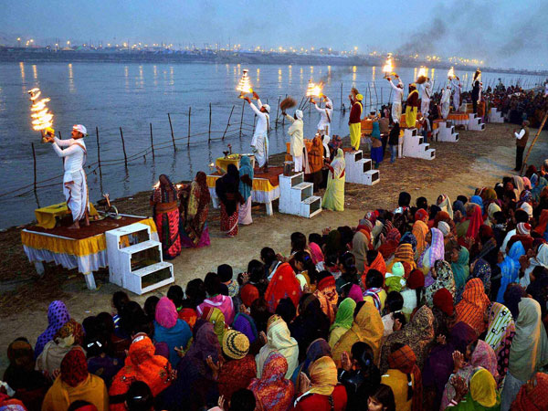 Holy Ganga 'abused' with sewage water!