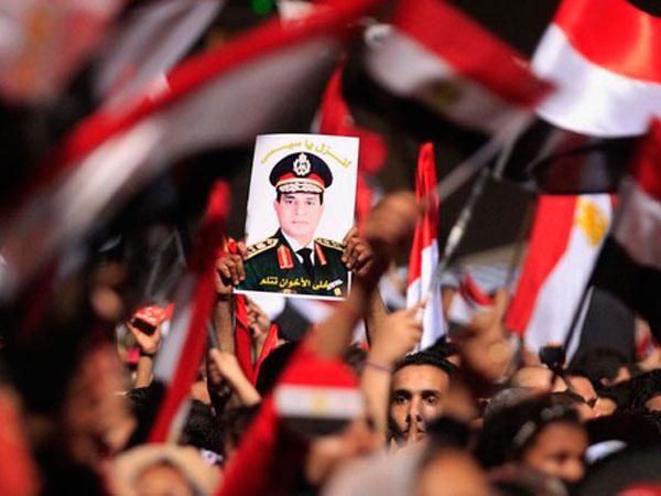 al-Sisi headed for big win