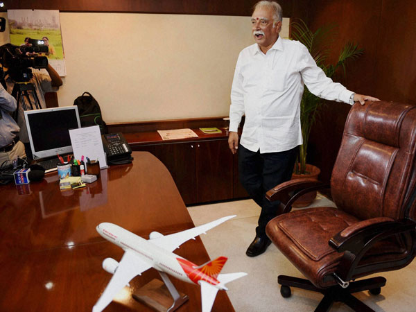 Raju takes charge of Aviation Min