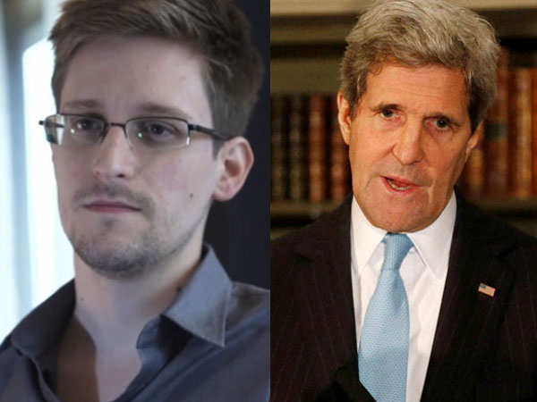Kerry asks Snowden to come back to US
