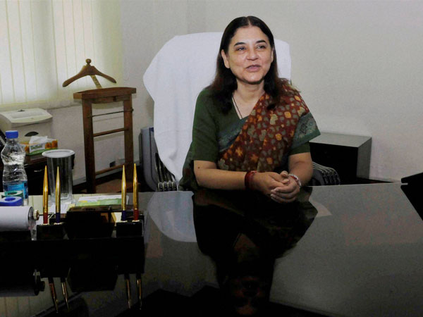 Maneka Gandhi assumes charge of Ministry