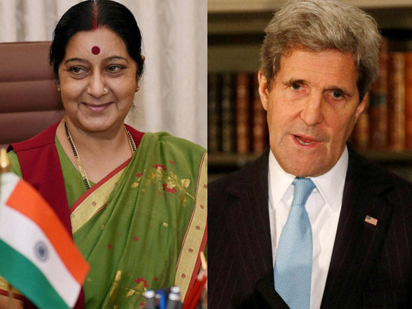 John Kerry congratulates Sushma Swaraj
