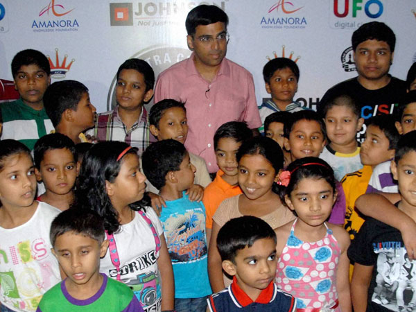 Five time World Chess Champion Viswanathan Anand