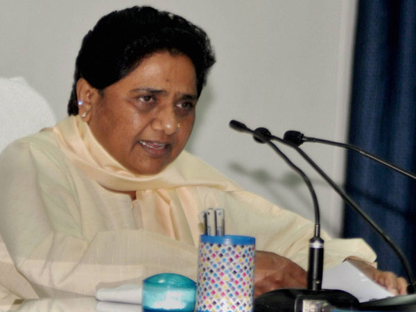 BSP Supremo and former Uttar Pradesh Chief Minister Mayawati