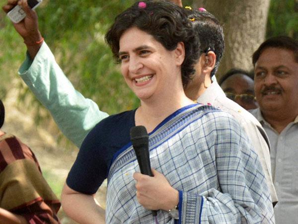 Priyanka Gandhi vists Kashmir