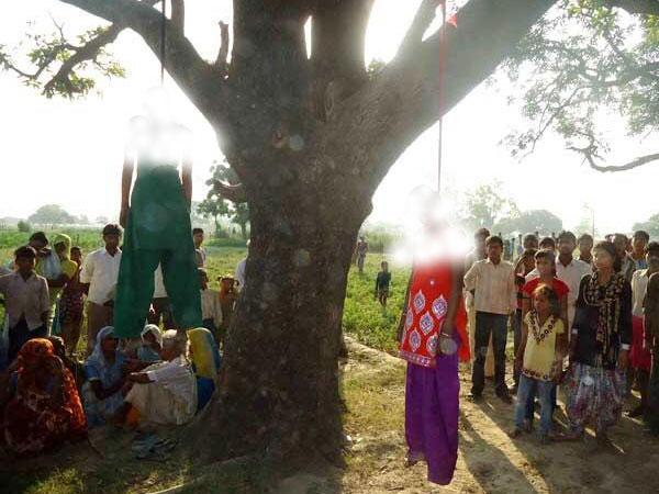 Dalit sisters gangraped