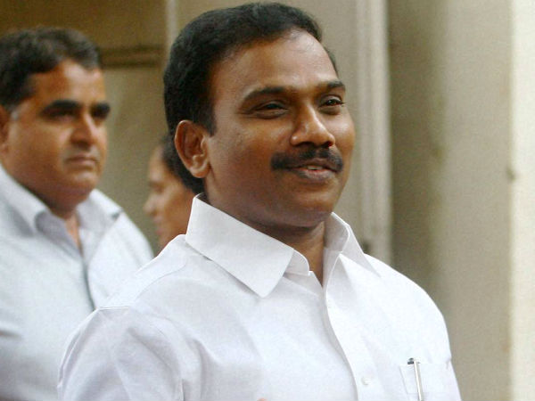 A Raja confidently 'not guilty' in 2G