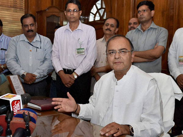 Arun Jaitley takes charge as Defence Minister