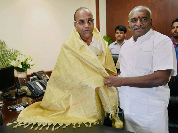 Heavy Industries Minister Anant Gangaram Geete