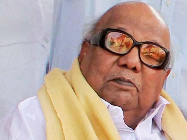 Karunanidhi greets Telangana CM
