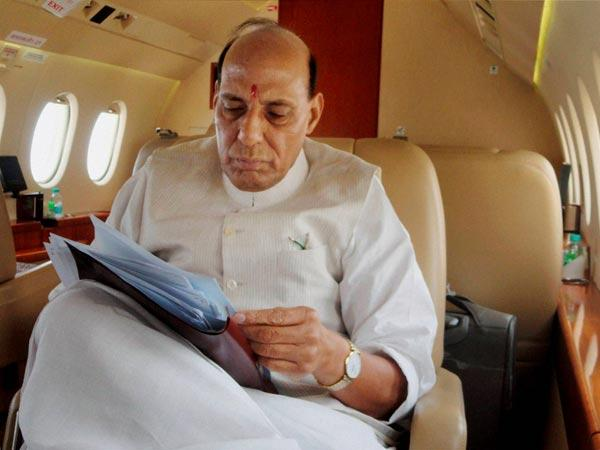 Rajnath meets security agency chiefs