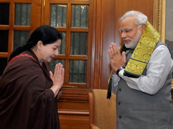 Jayalalitha to meet Narendra Modi today