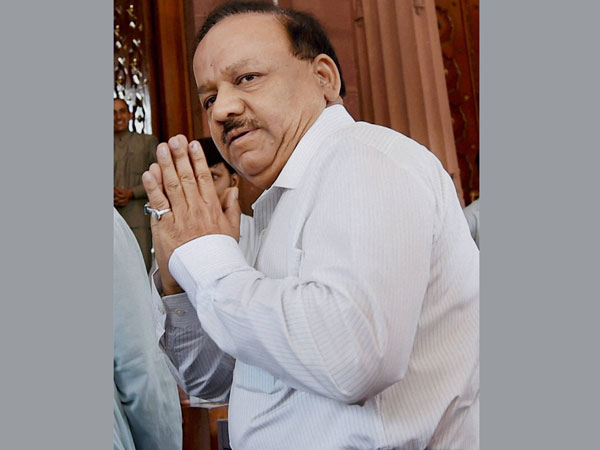 Union Minister for Health & Family Welfare, Harsh Vardhan