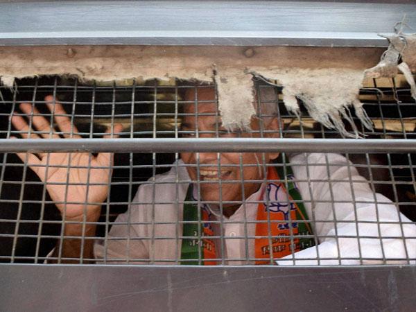 BJP leader Yashwant sent to jail