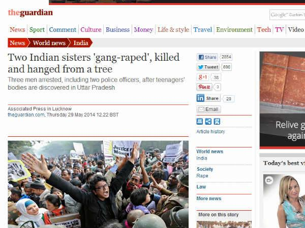 In Pics: Foreign media reaction on UP rapes