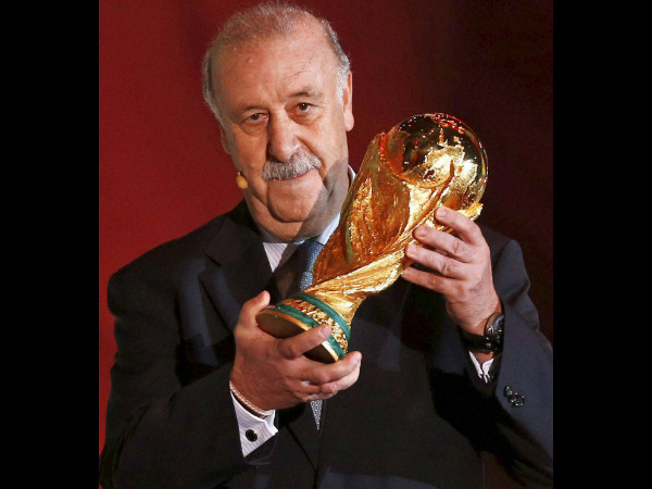 Will Spain's Vicente del Bosque make it two World Cup titles in a row?