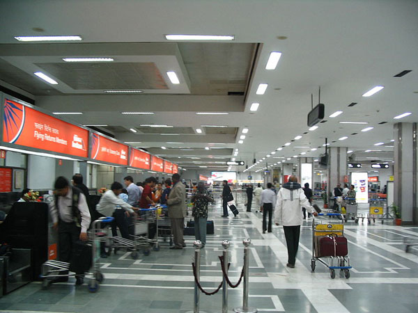 Security beefed up in Delhi airport