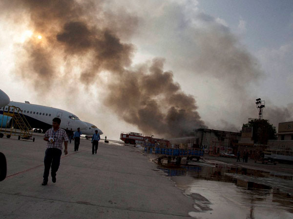 Airport attack: Taliban responsible