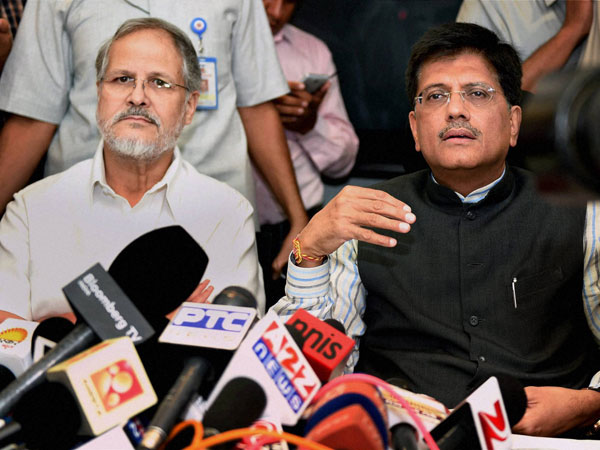 Union Minister of State for Power, Piyush Goyal withi Lt. Governor