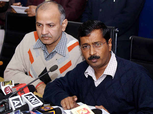 Congress rules out support to AAP