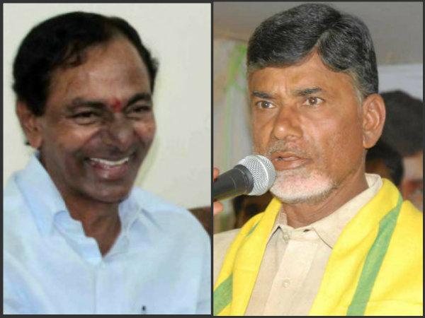 KCR and Chandrababu Naidu