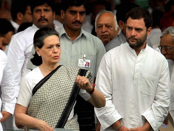 Sonia, Rahul Gandhi