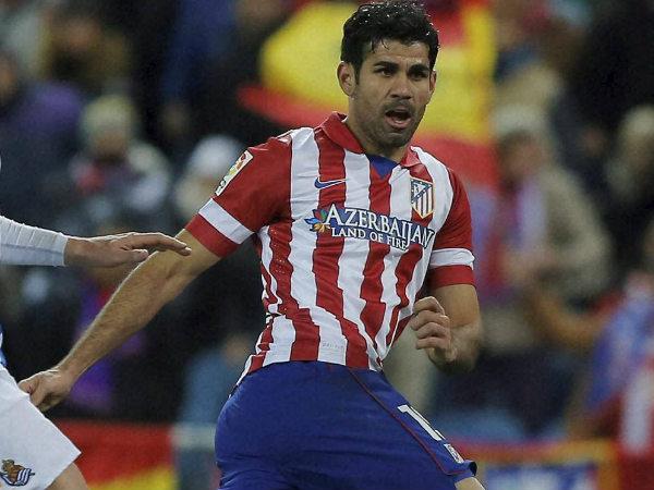 File photo: Deigo Costa in Atletico Madrid colours