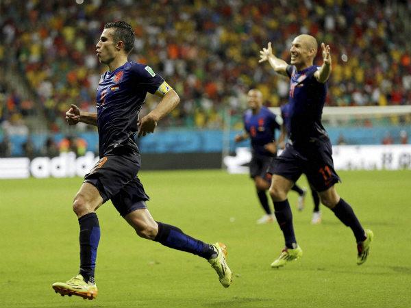 Could have beaten Spain by eight goals: Robin van Persie
