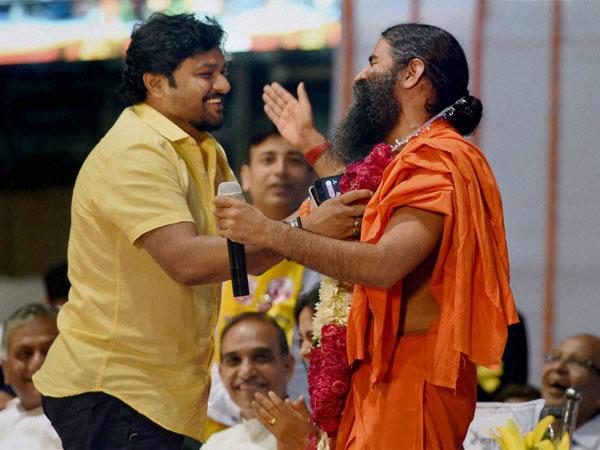 Babul Supriyo and Baba Ramdev