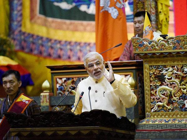 Narendra Modi addresses Bhutanese Parl