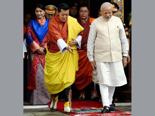 Narendra Modi bids adieu to Bhutan